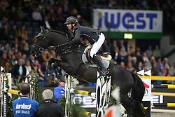 Guerdat Steve, (SUI), Kavalier<br /> Grand Prix of Stuttgart <br /> Longines FEI World Cup<br /> Stuttgart - German Masters 2015<br /> © Hippo Foto - Stefan Lafrentz
