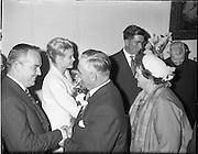15/06/1961<br /> 06/15/1961<br /> 15 June 1961<br /> <br /> A Royal Visit to Ireland by Princess Grace and Prince Rainier of Monaco. The royal couple at Westport, Co. Mayo. Princess Grace was meeting her relatives.