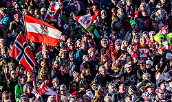 27.02.2019, Seefeld, AUT, FIS Weltmeisterschaften Ski Nordisch, Seefeld 2019, Skisprung, Damen, im Bild zuschauer // spectators during the ladie's Skijumping of the FIS Nordic Ski World Championships 2019. Seefeld, Austria on 2019/02/27. EXPA Pictures © 2019, PhotoCredit: EXPA/ JFK