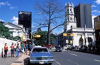 Venezuela - Caracas - Avenue et eglise San Francisco - Centre ville