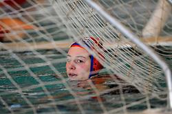 06-01-2008 WATERPOLO: EKT NEDERLAND - FRANKRIJK: AMSTERDAM<br /> De Nederlandse waterpolosters hebben het kwalificatietoernooi voor het Europees kampioenschap gewonnen. Ook Frankrijk werd verslagen met 13-2 / Celine Cherrier<br /> ©2007-WWW.FOTOHOOGENDOORN.NL