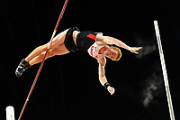 Shawnacy Barber (CAN) wins the Gold Medal in Pole Vault Men Final during the IAAF World Championships, Beijing 2015, at the National Stadium, in Beijing, China, Day 3, on August 24, 2015 - Photo Julien Crosnier / KMSP / DPPI