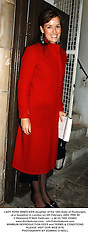 LADY ROSE INNES-KER daughter of the 10th Duke of Roxburghe, at a reception in London on 5th February 2004.PRK 90