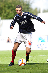 Falkirk's Andy Haworth..Falkirk v Raith Rovers, 18/8/2012..