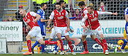 Conor Sammon (23, far left) of Rotherham United celebrates scoring the 2nd goal agains Ipswich Town during the Sky Bet Championship match at the New York Stadium, Rotherham<br /> Picture by Graham Crowther/Focus Images Ltd +44 7763 140036<br /> 07/02/2015