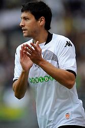 22-07-2009 VOETBAL: ADO DEN HAAG - VALENCIA CF: DEN HAAG<br /> Valencia wint met 4-1 van Den Haag / Miguel Angel Angulo Valderrey scoort de 1-0<br /> ©2009-WWW.FOTOHOOGENDOORN.NL