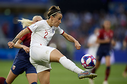 June 27, 2019 - Le Havre, France - Lucy Bronze (Olympique Lyon) of England does passed during the 2019 FIFA Women's World Cup France Quarter Final match between Norway and England at  on June 27, 2019 in Le Havre, France. (Credit Image: © Jose Breton/NurPhoto via ZUMA Press)