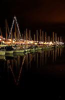 Seilbåter i småbåthavnen i Nørvevika på Nørve i Ålesund kommune.<br /> <br /> Sailboats in the marina at Nørvevika in Aalesund.<br /> <br /> Foto: Svein Ove Ekornesvåg