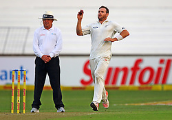 Doug Bracewell during day one of the first test match between South Africa and New Zealand held at the Kingsmead stadium in Durban, KwaZulu Natal, South Africa on the 19th August 2016<br /> <br /> Photo by:   Anesh Debiky / Real Time Images