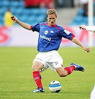 Fotball , <br /> Tippeligaen Eliteserien , <br /> 02.08.08 , <br /> Ullevaal stadion , <br /> Vålerenga VIF - Fredrikstad FFK , <br /> Allow Jepsen , <br /> Foto: Thomas Andersen / Digitalsport