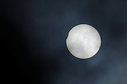 Friday 20th March 2015: Image of the solar eclipse viewed from Amsterdam, NL.