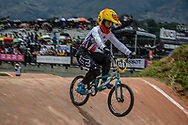 #138 (SHRIEVER Bethany) GBR at the 2016 UCI BMX World Championships in Medellin, Colombia.