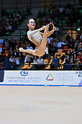 Giulia Capacci  atleta della Società Gymnica 96 di Forlì durante la seconda prova del Campionato Italiano di Ginnastica Ritmica.<br /> La gara si è svolta a Desio il 31 ottobre 2015.