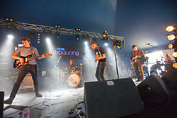 Yr Eira plays the BBC introducing tent. Saturday, 11th July 2015, day two at T in the Park 2015, at its new home at Strathallan Castle.