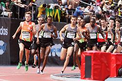Samsung Diamond League adidas Grand Prix track & field; men's 1500 meters, Adams rabbit,