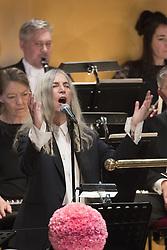 Patti Smith bei der Nobelpreisverleihung 2016 in der Konzerthalle in Stockholm / 101216 ***The annual Nobel Prize Award Ceremony at The Concert Hall in Stockholm, December 10th, 2016***