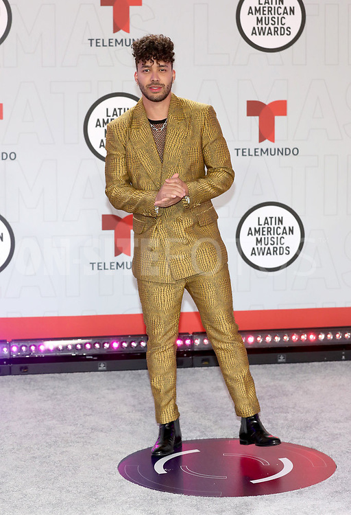 """2021 LATIN AMERICAN MUSIC AWARDS -- """"Red Carpet"""" -- Pictured: Prince Royce at the BB&T Center in Sunrise, FL on April 15, 2021 -- (Photo by: Aaron Davidson/Telemundo)"""