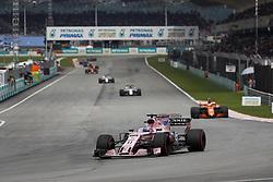 October 1, 2017 - Sepang, Malaysia - Motorsports: FIA Formula One World Championship 2017, Grand Prix of Malaysia, ..#11 Sergio Perez (MEX, Sahara Force India F1 Team) (Credit Image: © Hoch Zwei via ZUMA Wire)