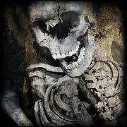 Ancient skeleton from the British Museum, London