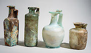 Roman period Glass vessels 2-3 century CE