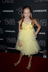 August 9, 2017 - New York, NY, USA - August 9, 2017  New York City..Olivia Kate Rice attending 'The Glass Castle' film premiere on August 9, 2017 in New York City. (Credit Image: © Kristin Callahan/Ace Pictures via ZUMA Press)