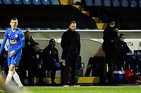 Simon Rusk. Stockport County FC 0-2 Sutton United FC. Vanarama National League. Edgeley Park. 2.2.21