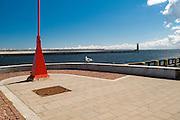 Gdynia, (woj. pomorskie) 19.07.2016.  Nabrzeże Pomorskie w gdyńskim porcie