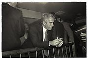 jeffrey Epstein, Harley Davidson Cafe opening. Manhattan. 1993.