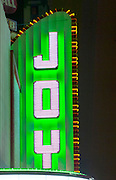 Louisiana, New Orleans, Canal Street, Joy Theater Marque, Recently Restored