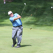 Tim Herron, USA, in action during the third round of the Travelers Championship at the TPC River Highlands, Cromwell, Connecticut, USA. 21st June 2014. Photo Tim Clayton