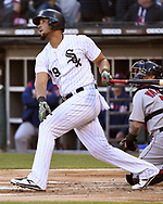 CHICAGO - MAY 04:  Jose Abreu #79 of the Chicago White Sox bats against the Chicago White Sox on May 4, 2019 at Guaranteed Rate Field in Chicago, Illinois.  (Photo by Ron Vesely)  Subject:  Jose Abreu
