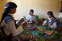 Yemen, le Djebel Haraz, village de Manakha, heure du qat. // Yemen, Djebel Haraz, Manakha village, qat time.