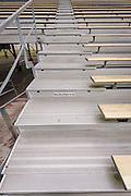 Steep steps in stadium atNorth Forest High School, February 23, 2015.
