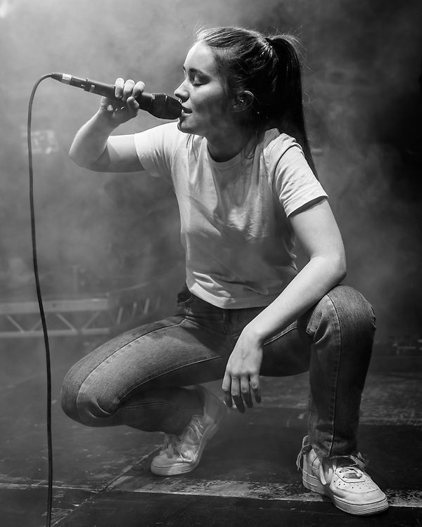 Norwegian singer-songwriter Sigrid at Iceland Airwaves
