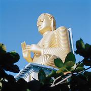 Statue of a Golden Buddha, Dambulla, Sri Lanka