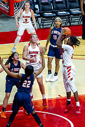 NORMAL, IL - November 30: Juliunn Redmond during a college women's basketball game between the ISU Redbirds and the Skyhawks of UT-Martin November 30 2019 at Redbird Arena in Normal, IL. (Photo by Alan Look)