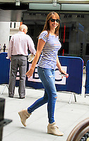 Alex Jones, Celebrities at the BBC, London UK, 16 July 2014, Photo by Mike Webster