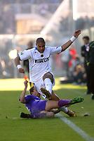 Firenze 07-11-2004<br /> Campionato  Serie A Tim 2004-2005<br /> Fiorentina Inter<br /> nella  foto Adriano Leite Ribeiro<br /> Foto Snapshot / Graffiti