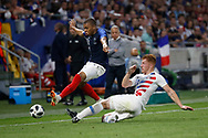 Kylian Mbappe of France and Tim Parker of USA during the 2018 Friendly Game football match between France and USA on June 9, 2018 at Groupama stadium in Decines-Charpieu near Lyon, France - Photo Romain Biard / Isports / ProSportsImages / DPPI