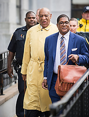 Bill Cosby leaves the first day of jury selection - 2 April 2018