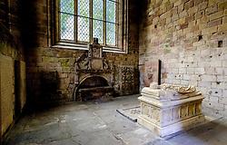 The burial vault of the Earls of Lothian in Jedburgh Abbey, Jedburgh, Scottish Borders<br /> <br /> (c) Andrew Wilson | Edinburgh Elite media