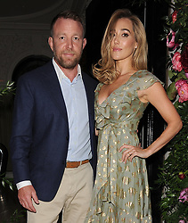 Princess Beatrice, Guy Ritchie and his wife Jacqui Ainsley attend a Dior private dinner at Annabel's private members club in Mayfair.<br /><br />21 May 2018.<br /><br />Please byline: Will/Vantagenews.com