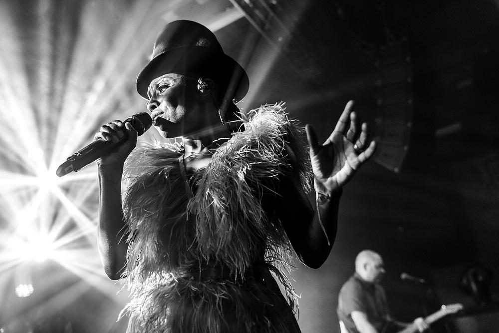 Skye Edwards of British trip-hop band Morcheeba at Gibson Club during the W-Festival in Frankfurt
