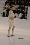 Chanel couture fashion show. Grand Palais, Ave Winston Churchill. Paris. 24  January  2006.  ONE TIME USE ONLY - DO NOT ARCHIVE  © Copyright Photograph by Dafydd Jones 66 Stockwell Park Rd. London SW9 0DA Tel 020 7733 0108 www.dafjones.com
