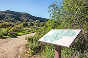 Trail Map at Laguna Coast Wilderness Park