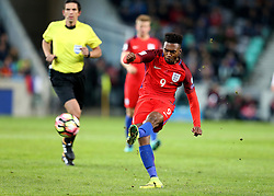 Daniel Sturridge of England has a shot on goal - Mandatory by-line: Robbie Stephenson/JMP - 11/10/2016 - FOOTBALL - RSC Stozice - Ljubljana, England - Slovenia v England - World Cup European Qualifier