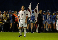 Photo: Richard Lane.<br />Croatia v England. UEFA European Championships 2008 Qualifying. 11/10/2006. <br />England's John Terry on the final whistle.