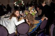 JEANNE MARINE; KATRINE BOORMAN; SIR VIDIA NAIPAUL; Liberatum 10th Anniversary dinner in honour of Sir Peter Blake. Hosted by Pable Ganguli and Ella Krasner. The Corinthia Hotel, Whitehall. London. 23 November 2011.