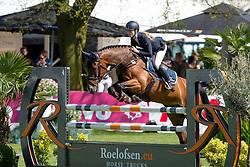 Hoogenraat Kim, (NED), Brouwers Top Gun<br /> Nederlands kampioenschap springen - Mierlo 2016<br /> © Hippo Foto - Dirk Caremans<br /> 21/04/16
