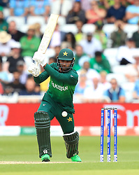 Pakistan's Imam-ul-Haq during the ICC Cricket World Cup group stage match at Trent Bridge, Nottingham.